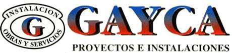 Proyectos e instalaciones Gayca